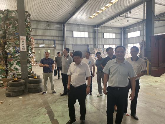舒城县委、县政府赴双赢集团考察